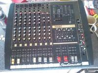 speakers lights amp mixer