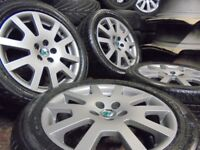 16inch genuine VRS ALLOY wheels SKODA FABIA audi golf vw mk4 a3 polo beetle 5x100 bora