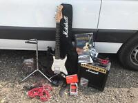 Full electric guitar set up