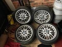 "BMW 18"" Staggered M Sport Alloys"