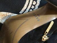 Ravel Fur Trimmed Knee Boots - Size 6