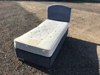 Luxury Single Bed & Mattress Clean Condition, Free Delivery In Norwich,