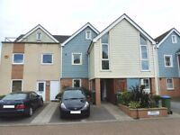 4 bedroom town house in Fareham close to the waterfront with 3 bathrooms