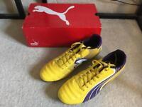 Brand New Puma Size 10 Football Boots - v6.11 I FG Sn21 Yellow