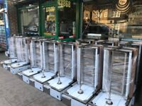 NEW GAS DONER KEBAB SHAWARMA GRILL MACHINE CATERING COMMERCIAL CAFE KEBAB CHICKEN RESTAURANT BAR
