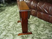 SMALL OVAL MAHOGANY DROP LEAF TABLE