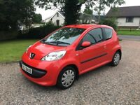 2007 PEUGEOT 107 1.0 URBAN - £20 ROAD TAX - ONE OWNER - FULL SERVICE HISTORY -