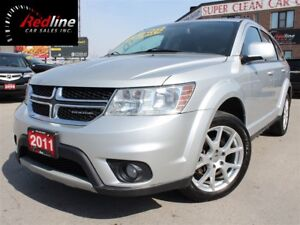 2011 Dodge Journey SXT V6 7 Passenger-Bluetooth-19Alloys