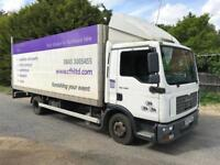 2008 MAN TGL 7.180 .6 speed manual.21ft body.Euro 4,LEZ compliant
