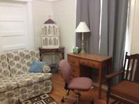 Furnished 1 bedroom downtown everything included