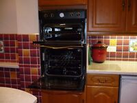 Double oven built in hardly used.(Bargain)