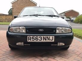 FORD FIESTA LX 1.25 PETROL MANUAL 5 DOOR HATCHBACK EXCELLENT CONDITION & LOW MILEAGE 37000 MILES