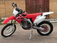 2013 Honda CRF450X outstanding condition