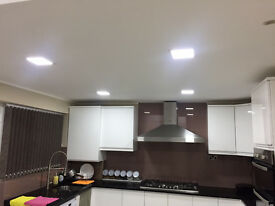 BRAND NEW Square LED recessed ceiling lights DAY LIGHT WHITE