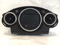 MINI ONE COOPER S SAT NAV SCREEN AND SURROUND R50 R52 R53 2001-2006