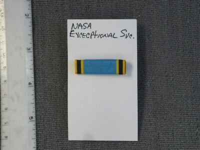 Institute of Heraldry (TIOH) sample, NASA Exceptional Service Ribbon Bar, new
