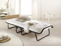 UNUSED JAY-BE Single Folding Guest Bed Pocket sprung Mattress
