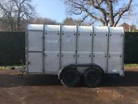 Ifor Williams Livestock trailer with sheep decks