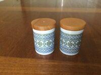 Hornsea pottery Tapestry salt and pepper pot