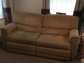 Apartment Style Lazy Boy recliner sofa for sale