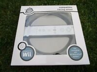 Wii compatible steering wheel (boxed as new)