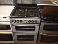 New world silver 60cm gas cooker