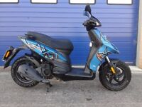 2015 PIAGGIO TYPHOON 125 QUALITY ITALIAN SCOOTER , MINT CONDITION FSH