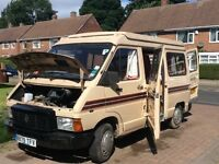 Renault Traffic Campervan for sale starts and runs but no MOT