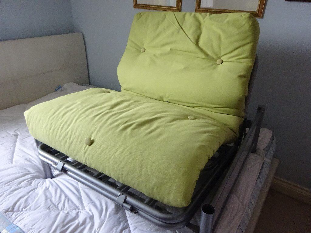 Cool Single Lime Green Metal Futon Chair Bed Only Used Twice Originally 129 From Argos In Liphook Hampshire Gumtree Caraccident5 Cool Chair Designs And Ideas Caraccident5Info