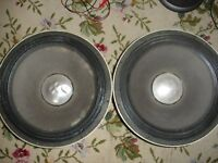 2 x Gauss Ctec Bass Speakers 400w 8Ohm Made in the USA