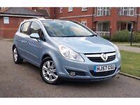 2007 Vauxhall Corsa 1.4 i 16v Design 5dr (a/c) **F/VAUX/S/H+PAN ROOF+HIGH SPEC**