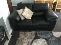 3+2 Faux Leather Sofas
