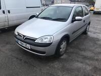 Vauxhall corsa 1.2 *** ONE OWNER FROM NEW****