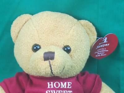 New Home Sweet Home Habitat Humanity Mission Sawyer Jimmy Carter Teddy Bear