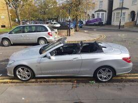 Hi Spec excellent condition Mercedes E350 cdi AMG 3.0 convertible