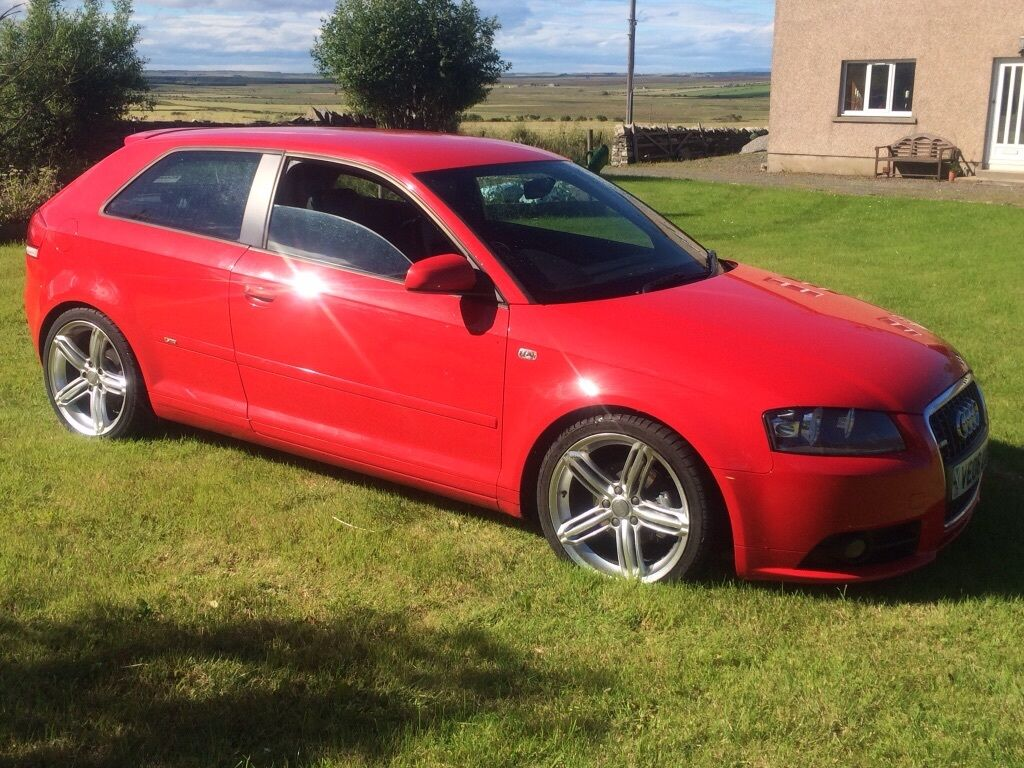 2006 audi a3 s line quattro 2ltr tdi in wick highland gumtree. Black Bedroom Furniture Sets. Home Design Ideas