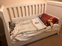 Kiddi couture toddler cot bed up to 6yrs old