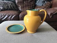 DENBY large jug and side plate
