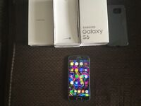 Samsung s6 boxed with everything