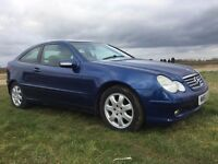 2001 Mercedes-Benz C Class 2.1 C220 CDI DIESEL AUTOMATIC LEATHER SEATS PANORAMIC ROOF