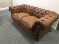 Like brand new chestfield sofa