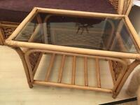 Conservatory coffee table