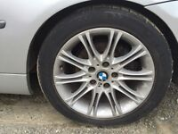 17 inch bmw alloys staggered