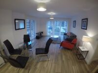 Brand new city centre 2 bedroom apartment to let with parking space available from NOW