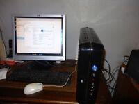 Asus desktop computer Intel Quad Core Q6600 2.4 Mhz Processor, 4GB Ram Bundle, 1TB HD
