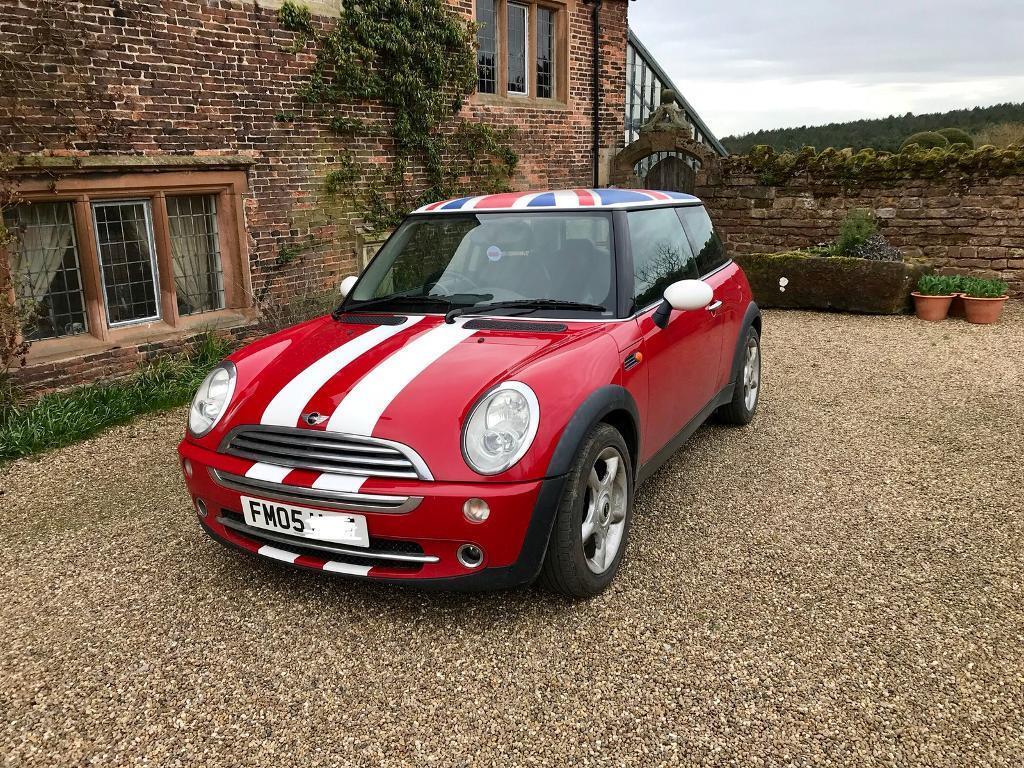 2005 1.6 Mini Cooper in Chilli Red