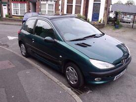 Peugeot 206 GLX 1.4L Petrol £400 Great Little Car **SOLD**