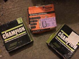 Paslode / Champion - nails - gas fuel cells packs