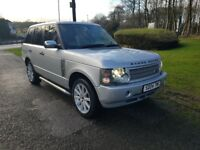 2004 Range Rover Vogue 2.9 TD6 Turbo diesel Low mileage 85,000 with Full service history