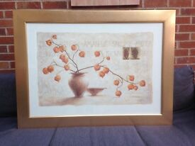 LARGE PRINT FRAMED PICTURE
